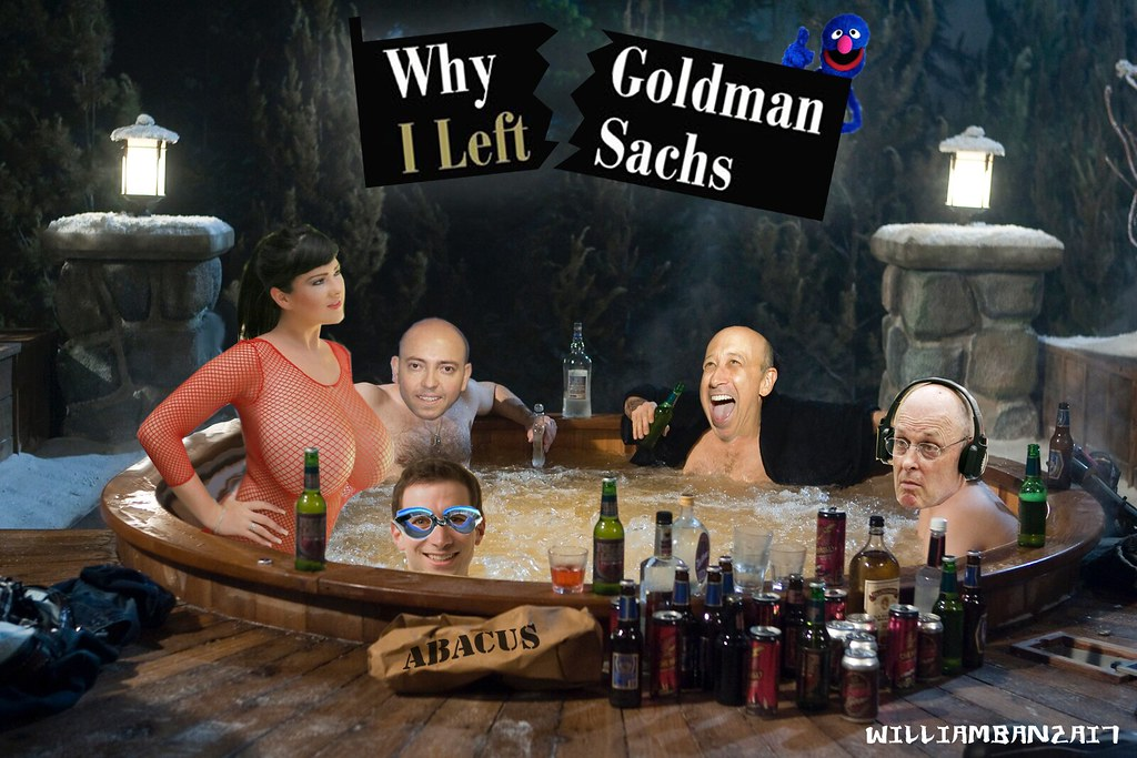 WHY I LEFT GOLDMAN SACHS (Andrew Ross Sorkin cameo)
