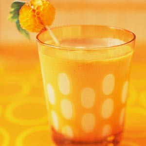Frosty Pine-Orange Yogurt Smoothie Recipe