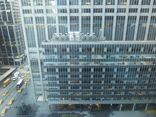 View from the NY Hilton, New York, NY Oct 2012 by suzipaw
