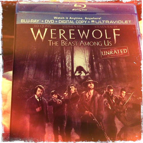 Time to watch Werewolf the Beast Among Us. @officialedquinn