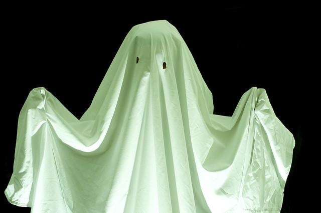 blanket ghost halloween
