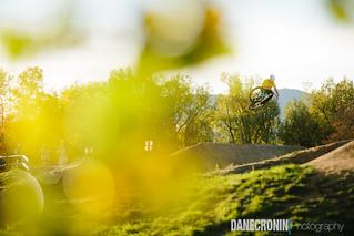 Dirt Jumping at Valmont Bike Park