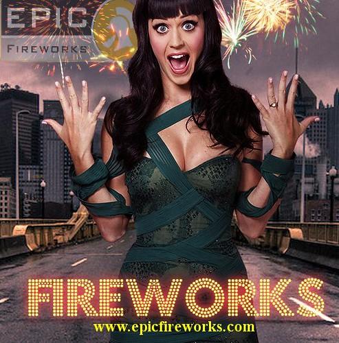 Katy Perry Loves Epic Fireworks logo