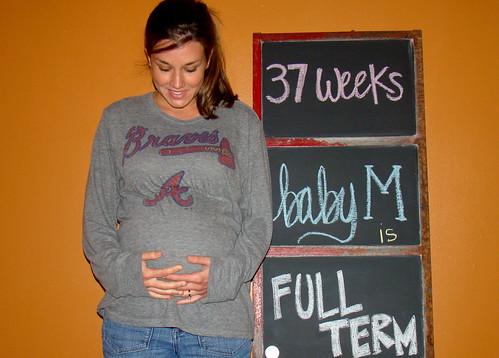37 weeks = full term!