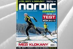 NORDIC 23 market - test běžeckých lyží