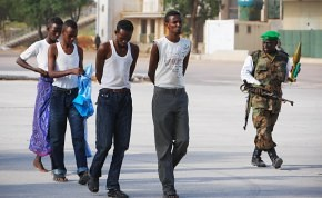 Somalians paraded through the capital of Mogadishu by US-backed military forces. The US through proxy armies are occupyiing the Horn of Africa nation. by Pan-African News Wire File Photos