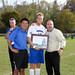 BC Men's & Women's Soccer Senior Day 2012