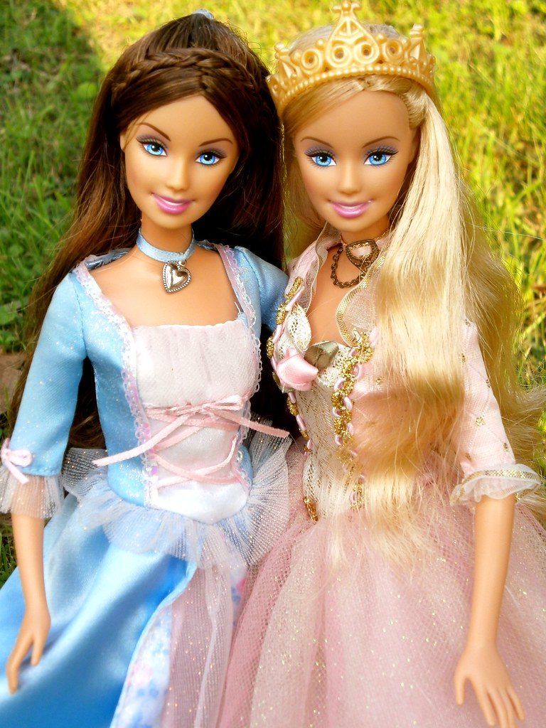 Barbie Anneliese And Erika Barbie The Princess And The Princess Anneliese And Erika From