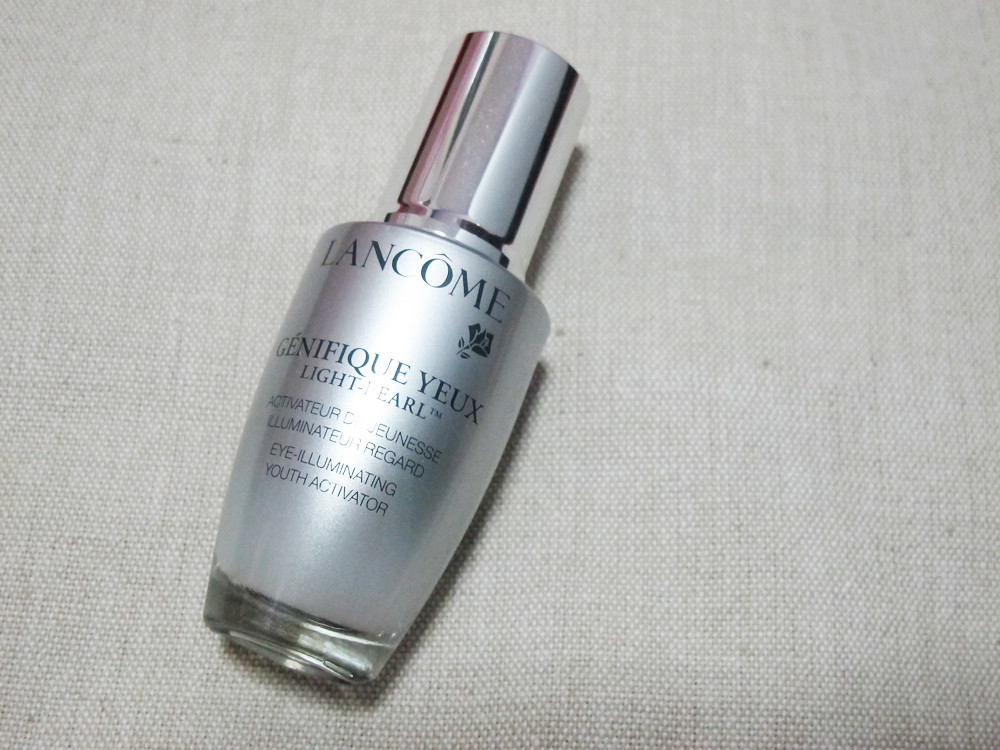 Review Lancome Genifique Yeux Light Pearl Eye
