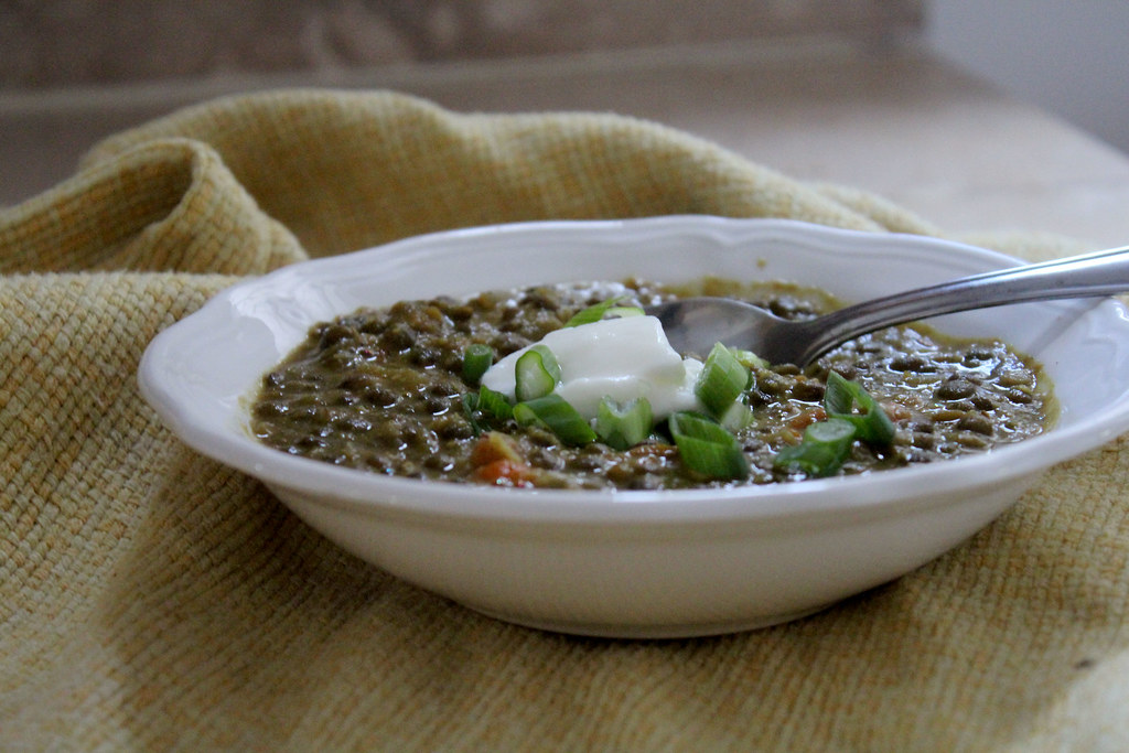 Curried Lentil Soup With Chickpea Purée Recipes — Dishmaps