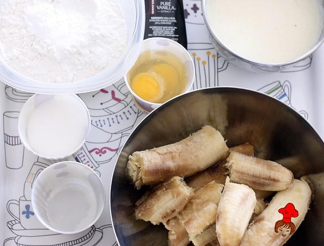 健康輕食-低脂無油配方香蕉杯子蛋糕 banana cup cake 2