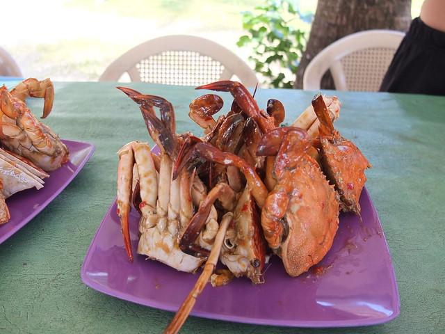 午餐又是螃蟹~YES!
