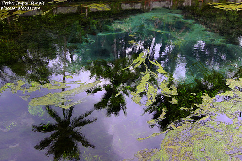 Tirtha Empul Temple Clear Pond