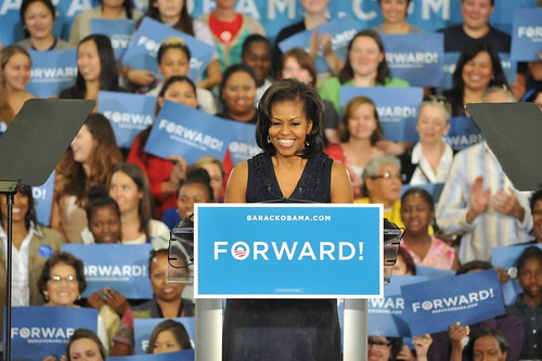 Michelle Obama in Las Vegas - October 26th