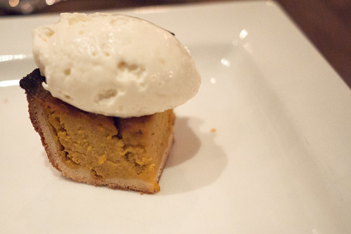 Broxburn Pumpkin Tart @ downtownfood