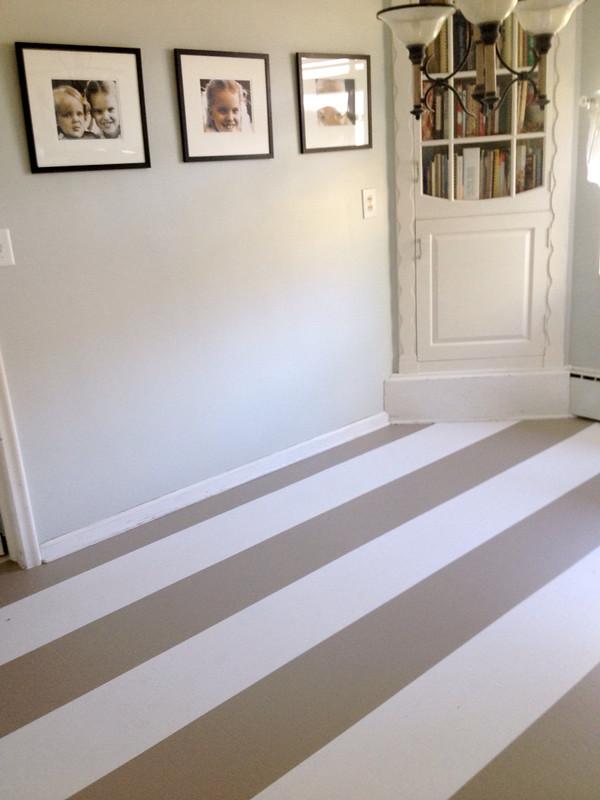 Lindsay drew better after feauture for Paint linoleum tile floor