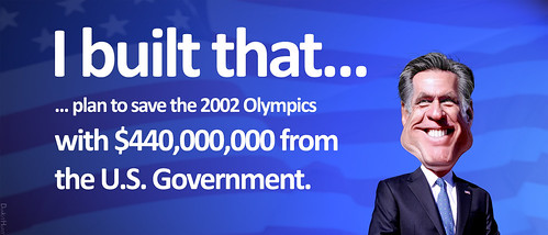 Mitt Romney, Olympics - I built that