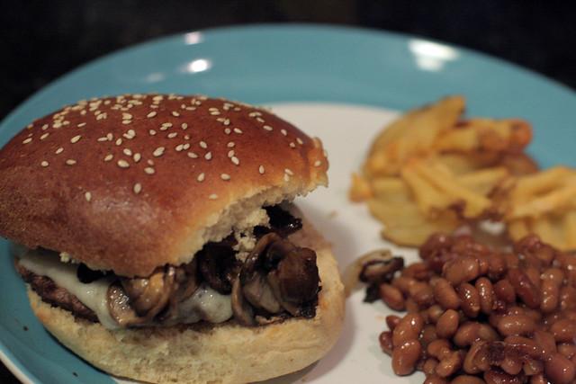 Hamburgers w/ Homemade Buns
