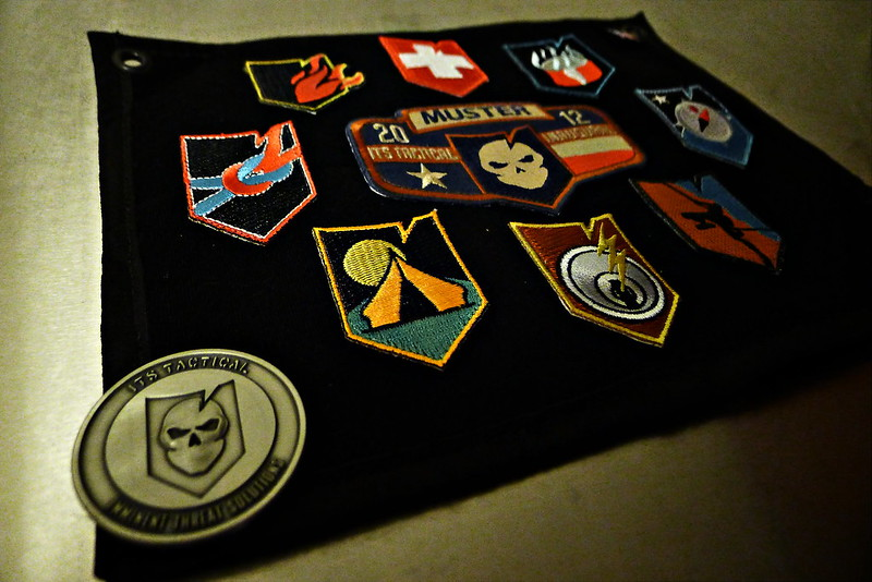 ITS Tactical Inaugural Muster Crew Patch Sheet