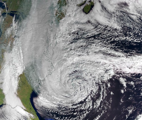 Hurricane Sandy by EUMETSAT