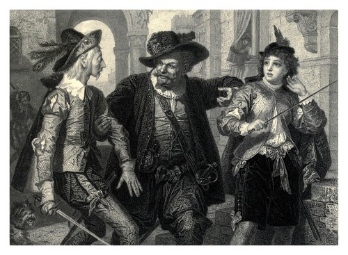 004-Doce noches-Shakespeare scenes and characters…1876
