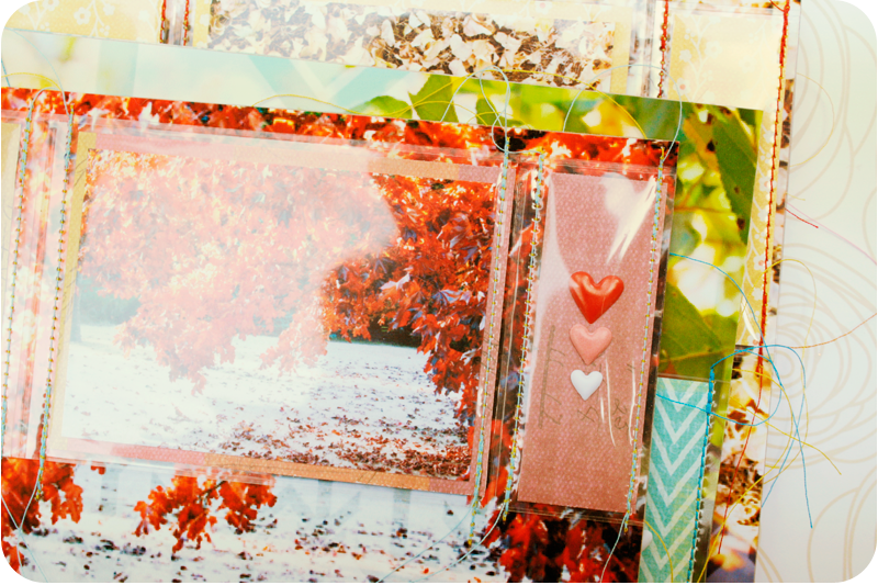 {autumn} cards | hearts