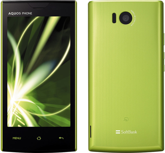 AQUOS PHONE 103SH full scale product image