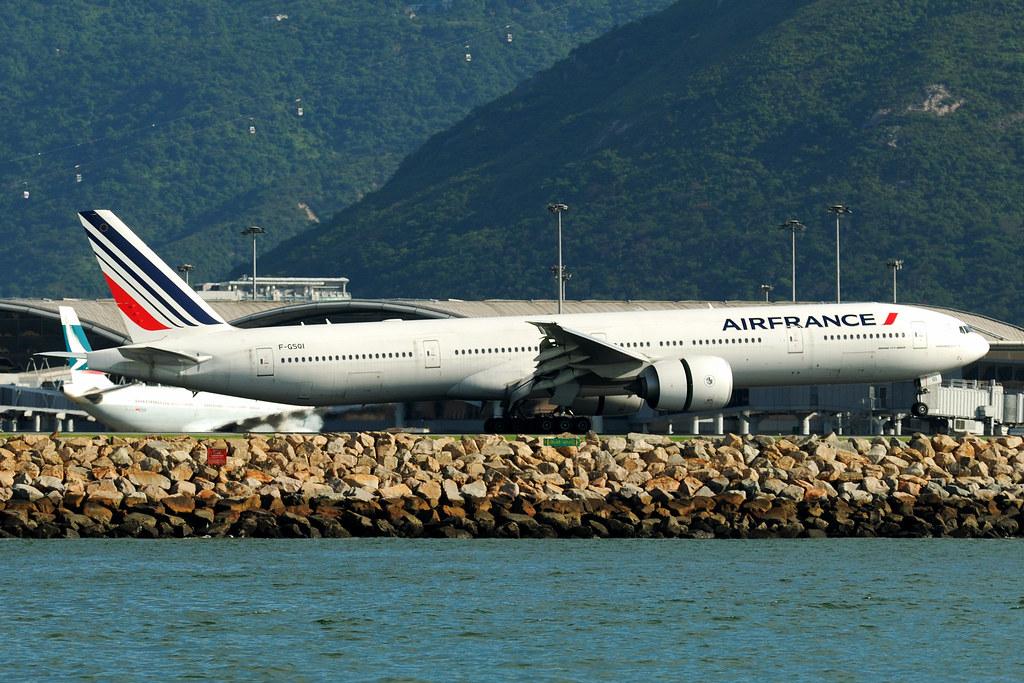 F-GSQI - B77W - Air France
