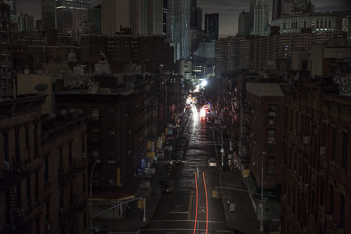 Chinatown dark by Several seconds