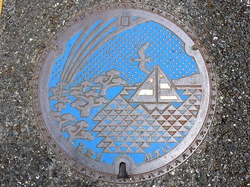 Hikari city Yamaguchi pref, manhole cover (山口県光市のマンホール)
