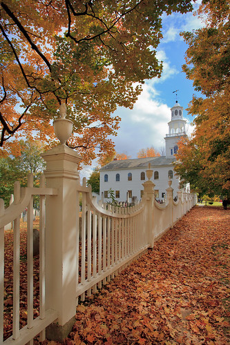 fall church leaves vermont foliage bennington oldfirstchurch visipix oldfirstchurchofbennington