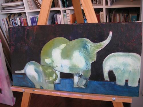 Elephants (in progress)