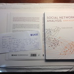 Social Network Analysis book cover