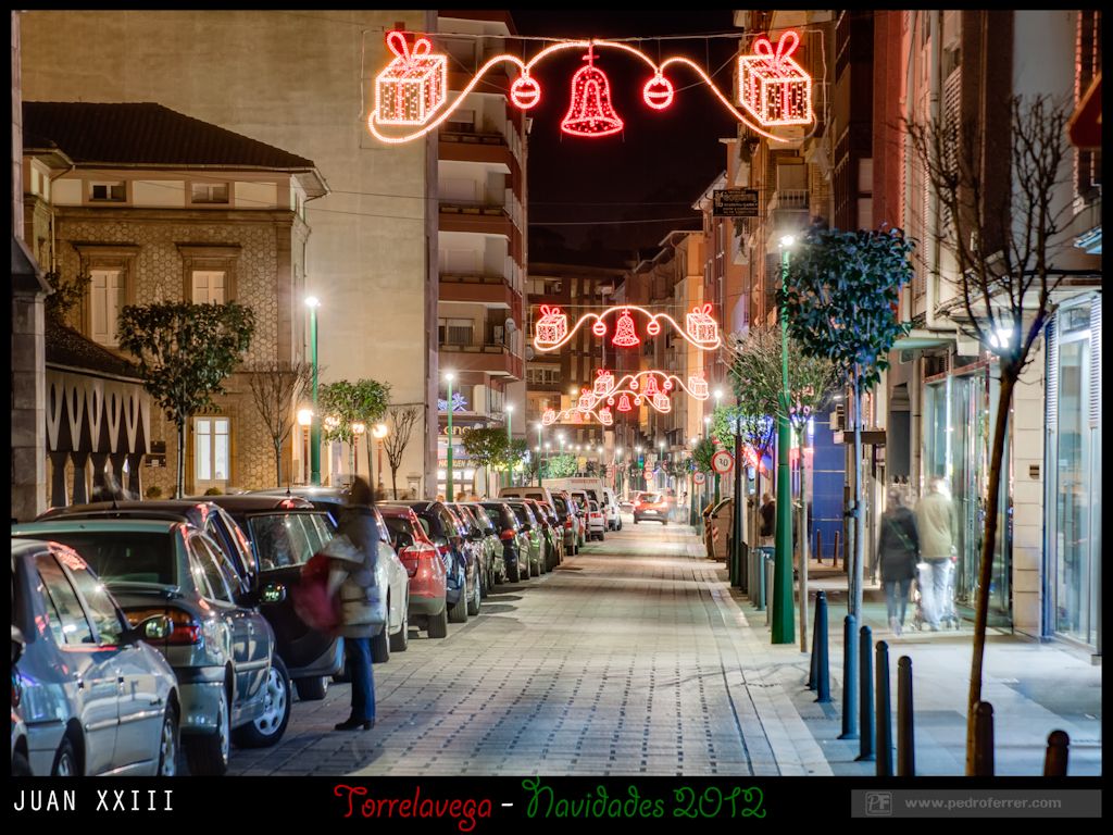 Navidades Torrelavega 2012 - Juan XXIII