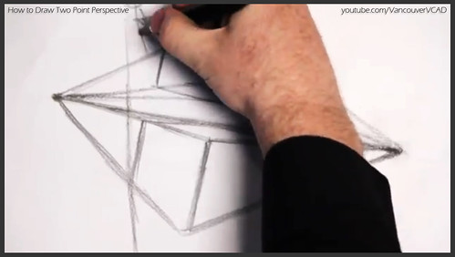 2D design how to draw in two point perspective 009
