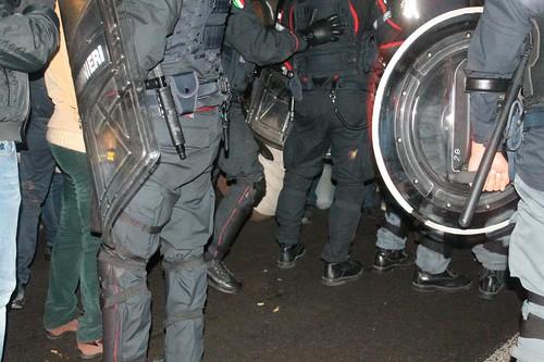 Muos, tensione e scontri tra manifestanti e polizia$