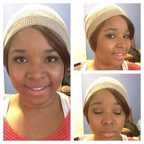 Today's makeup. Full details will be on the blog http://MizzShake.blogspot.ca #fotd #todaysmakeup #makeupjunkie #revlon #essence #smashbox #maccosmetics #mac #maybelline #rimmellondon #ilovemac #ilovemakeup #selfie