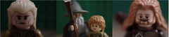 Lego LOTR triptych by bott.richard
