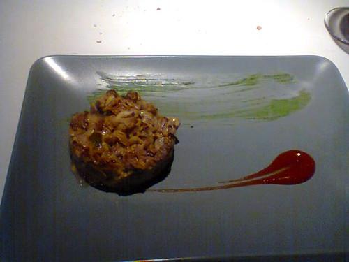 Hamburguesa tartar de atún rojo