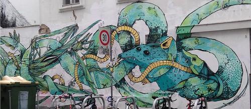 Graffiti_Ratte_Krake_Schrecke