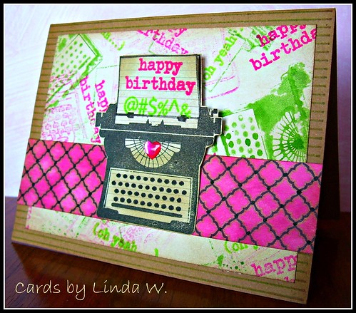 Typewriter Birthday