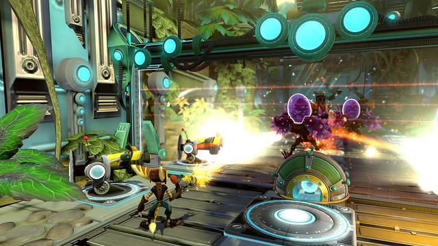 Ratchet & Clank QForce - Screenshot 2