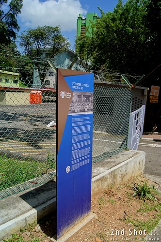 Pearl's Hill Barracks Historic Site Marker