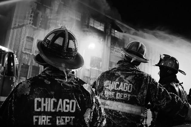 5-11 Fire in Chicago's Bridgeport neighbourhood