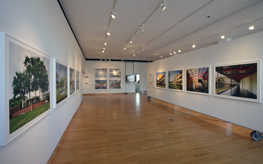 A view of the exhibition.