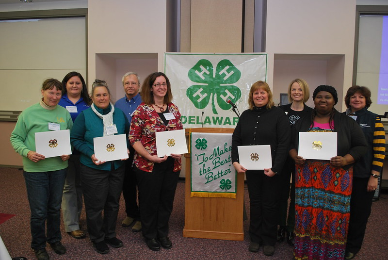 Delaware 4-H Salute to Excellence winners