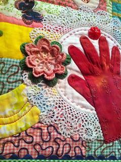 Mary Mashuta Quilt~Detail