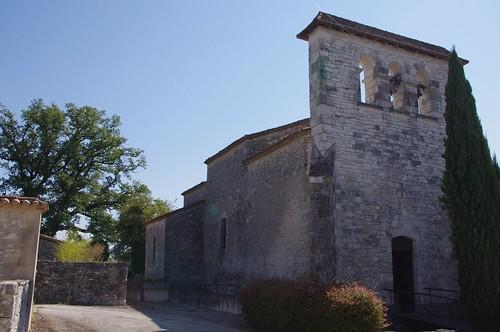 Sadillac - église Sainte-Anne