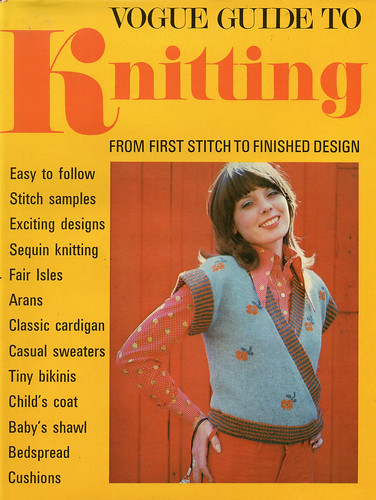 Vogue Guide to Knitting cover