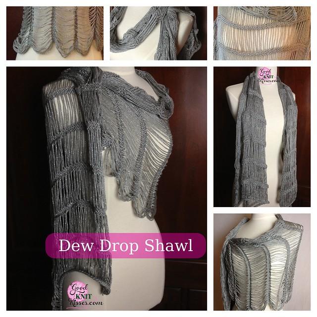 Dew Drop Wrap Free Crochet Pattern : Dew Drop Shawl pattern by Kristen Mangus Dew Drop Shawl ...
